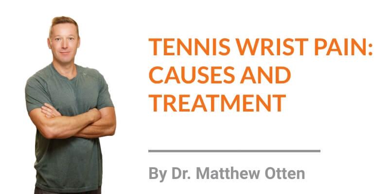 Tennis Wrist Pain