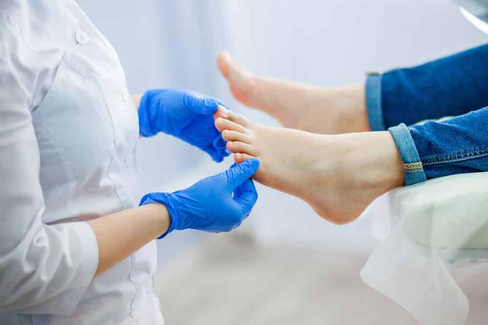 Numb Toes May be Indicative of an Underlying Condition